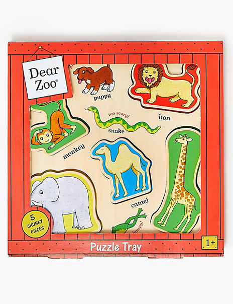 Wood Dear Zoo Puzzle