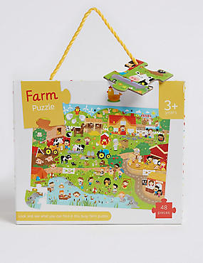 Look & Find Farm Puzzle