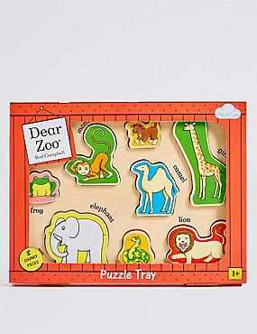 Dear Zoo Wooden Puzzle Tray