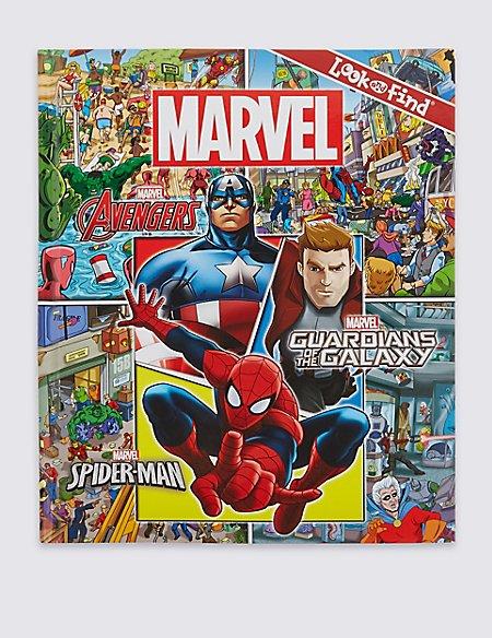 Marvel Look Activity Book