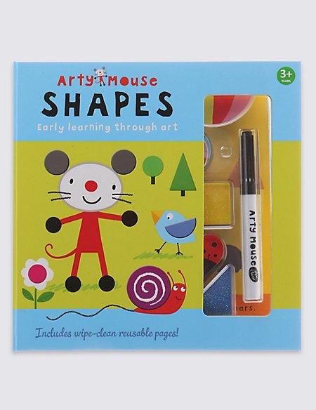Arty Mouse Shapes Set