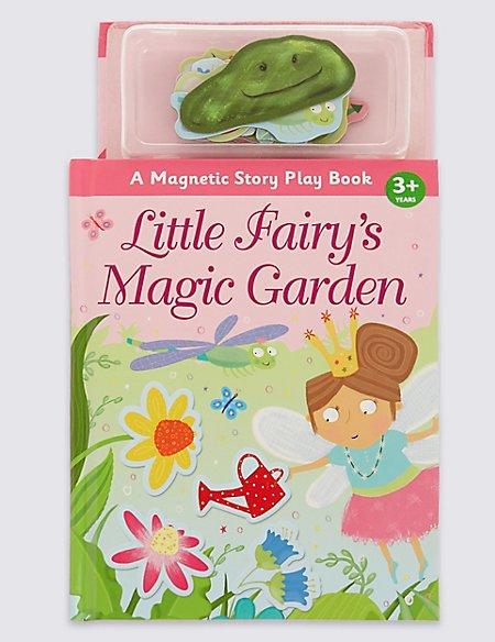 Magnetic Fairy Garden Book