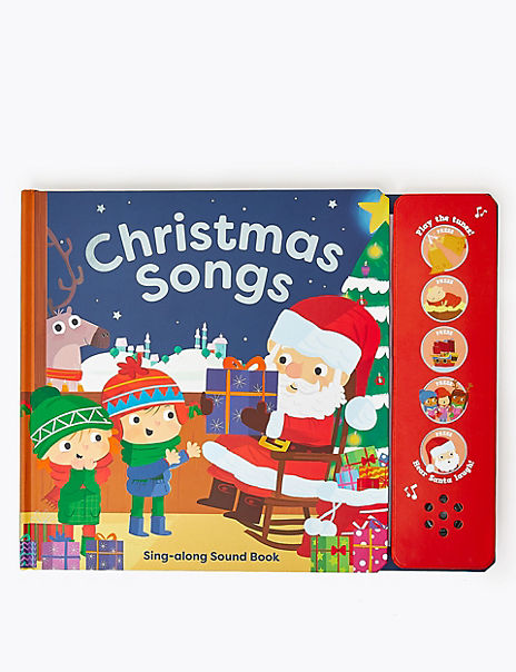 Christmas Songs Sound Book