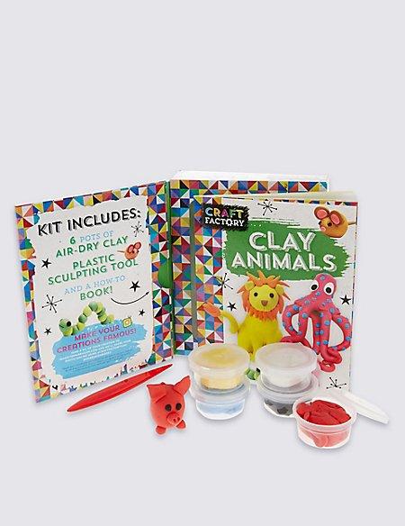 Clay Animals Craft Kit