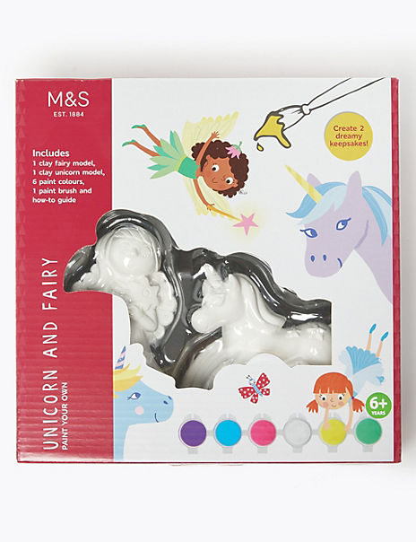 Paint Your Own Unicorn and Fairy Kit