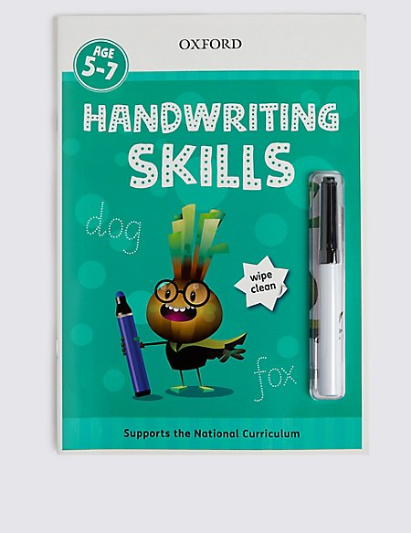 Handwriting Skills Wipe Clean