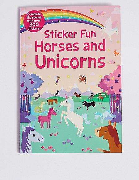 Sticker Fun Horses & Unicorns