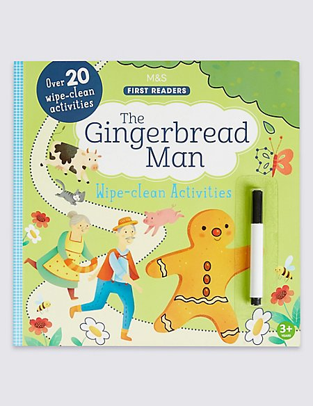 The Gingerbread Man Wipe-Clean Book