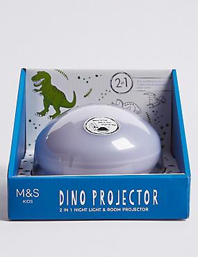 2 in 1 Dino Night Light & Room Projector