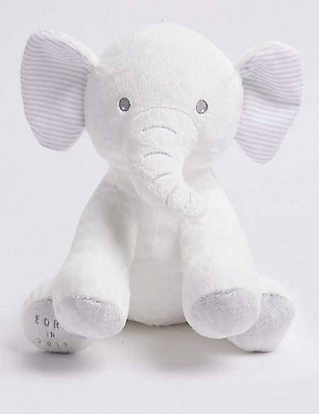 Born in 2019 Elephant Soft Toy