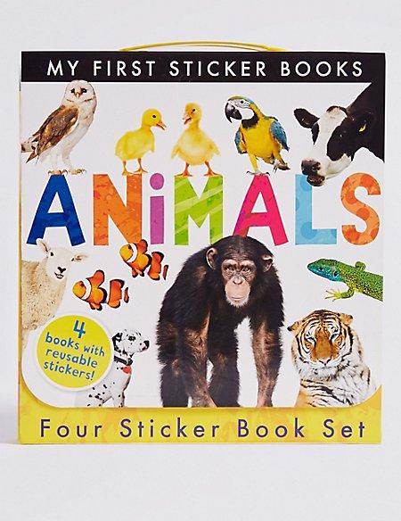 Animals Sticker Book Set