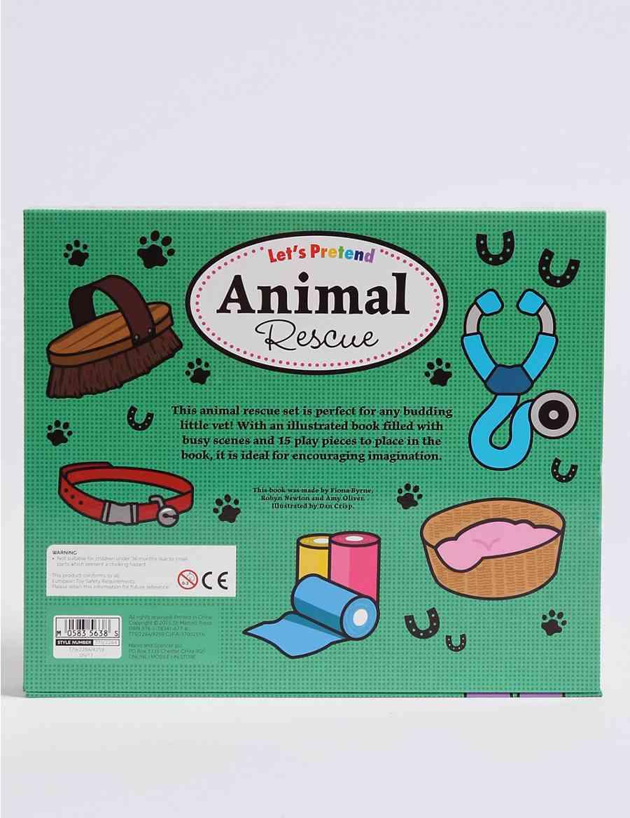 Let\'s Pretend Animal Rescue Book | M&S