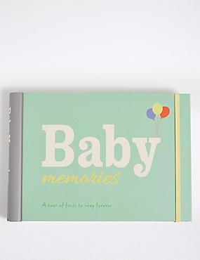 Baby Memories Book