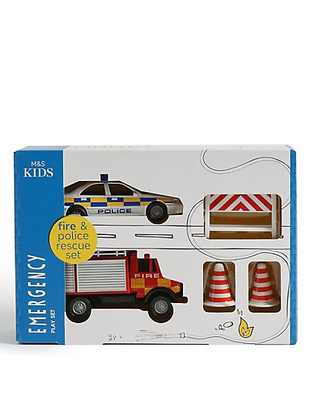 Emergency Vehicle Play Set