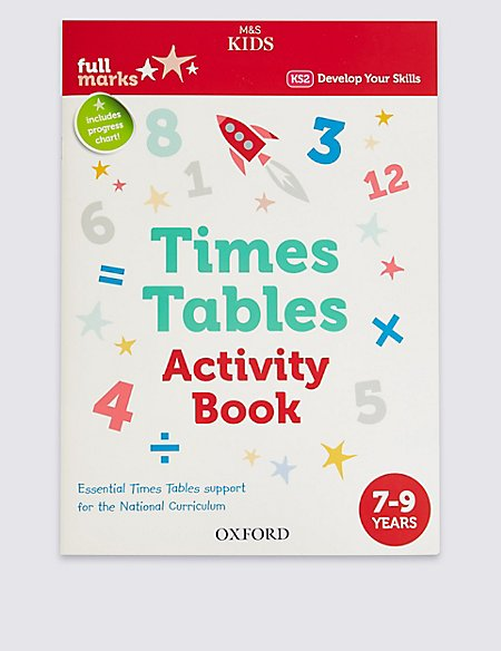 Times Tables Activity Book