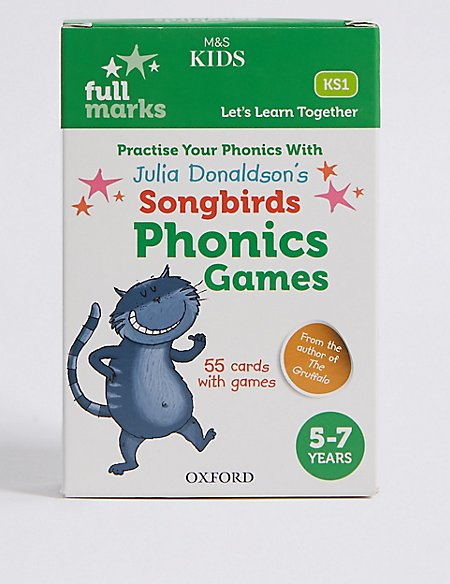 Julia Donaldson's Songbirds Phonics Games