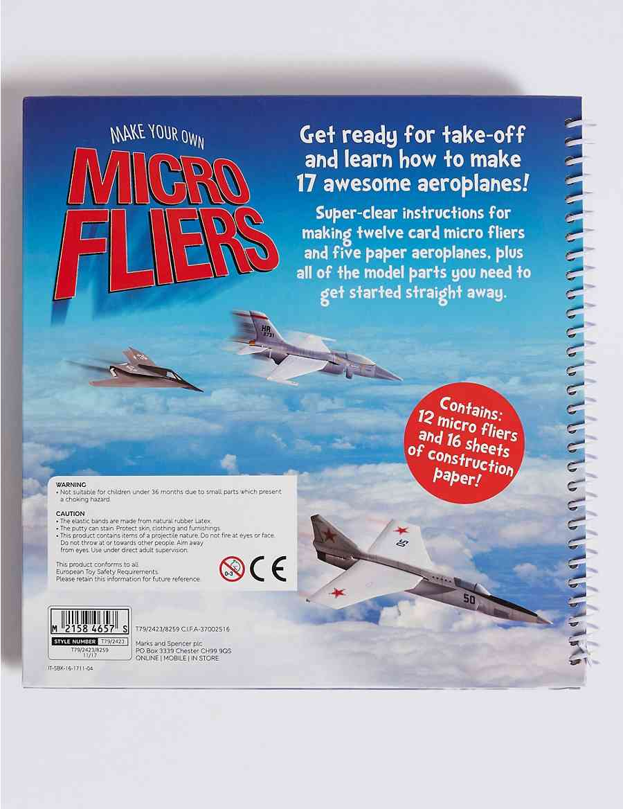 make your own micro fliers m s