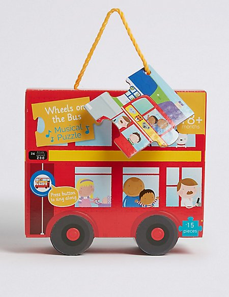 Wheels on the Bus Musical Puzzle