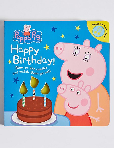 peppa pig happy birthday m s