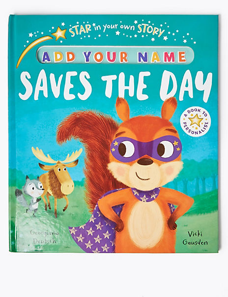 Star In Your Own Story Woodland Hero Book