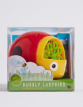 Ladybird Bubble Machine