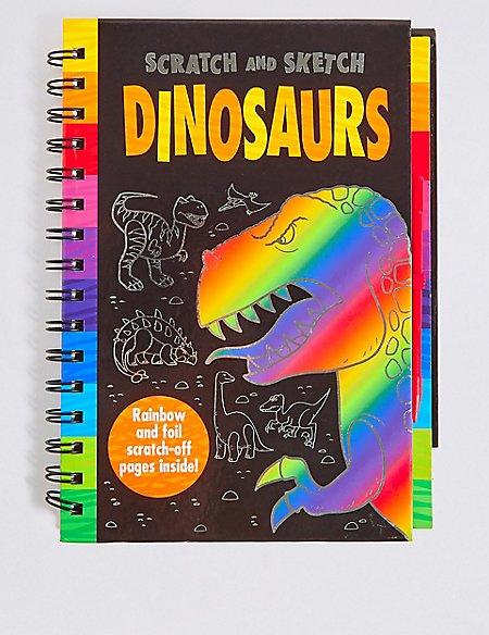 Scratch & Sketch Dinosaurs