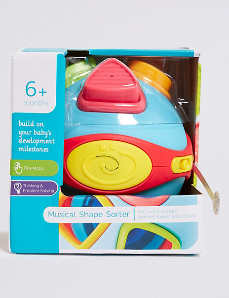 Musical Shape Sorting Ball Toy