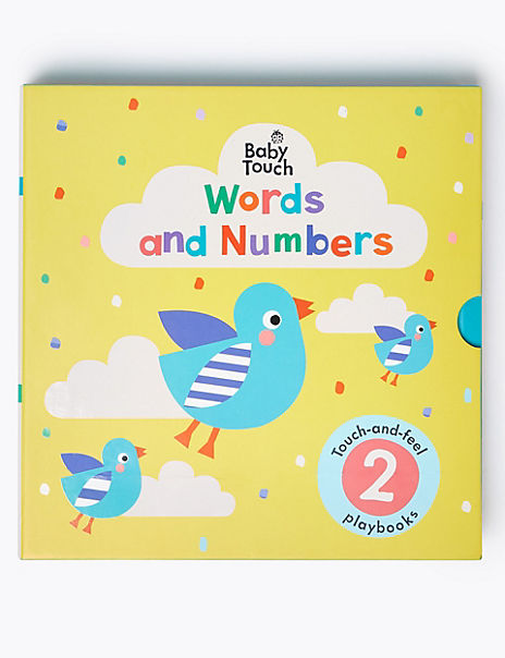 Words And Numbers Activity Book Set
