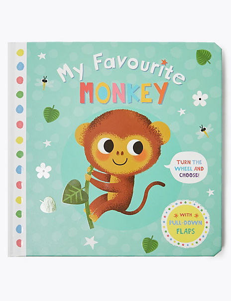 My Favourite Monkey Storybook