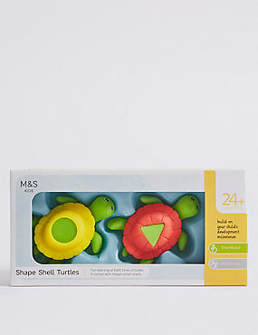 Shape Shell Turtles