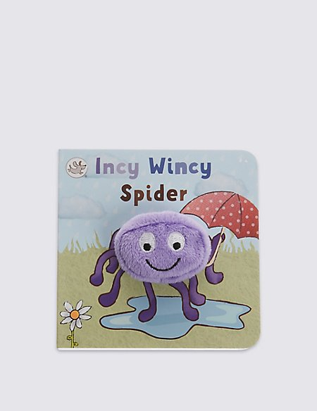 Finger Puppet Incy Wincy Spider