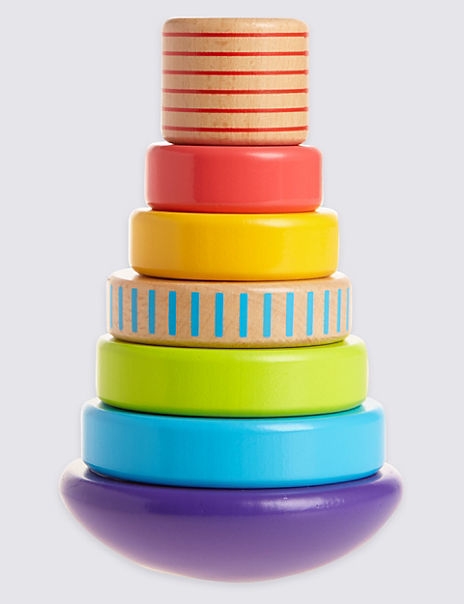 Wooden Stacking Rings