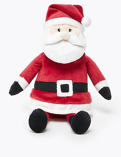 Father Christmas Small Plush Toy