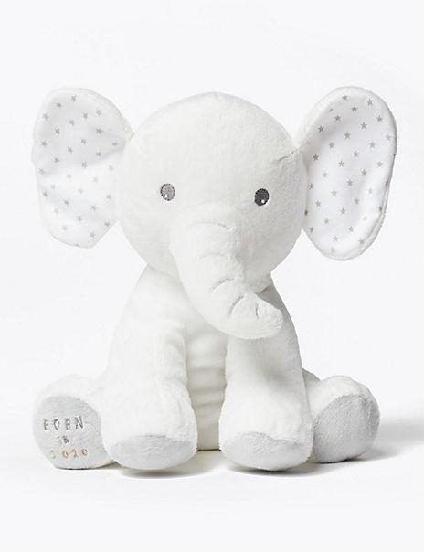 Born in 2020 Elephant Soft Toy
