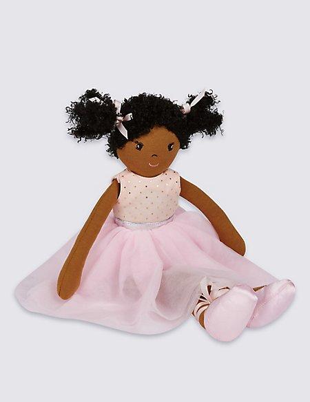 Isabella Ballerina Rag Doll (44cm)