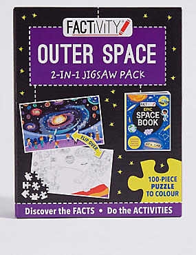 Factivity Outer Space Puzzle Game