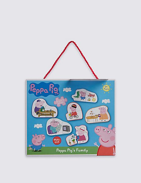 Peppa Pig's Family Puzzle