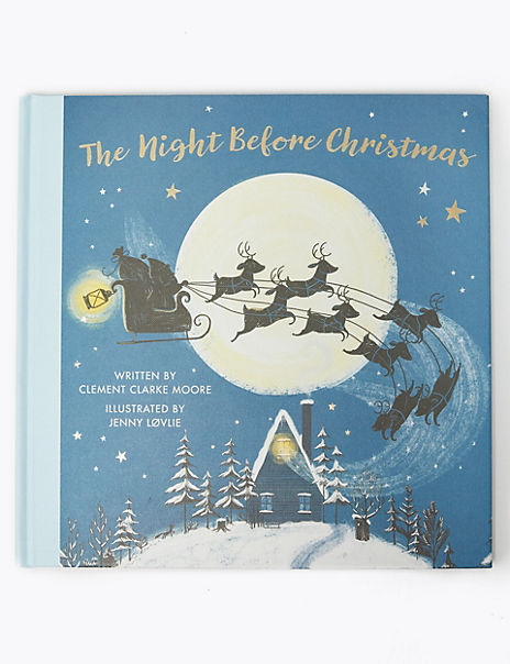 The Night Before Christmas Story Book