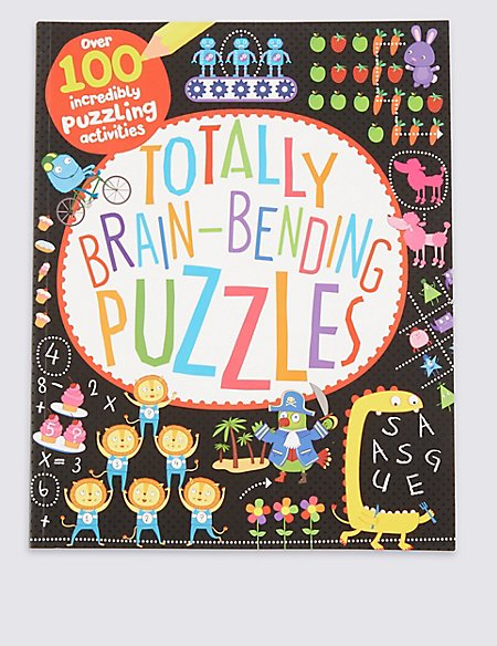 Totally Brain Bending Puzzle Book