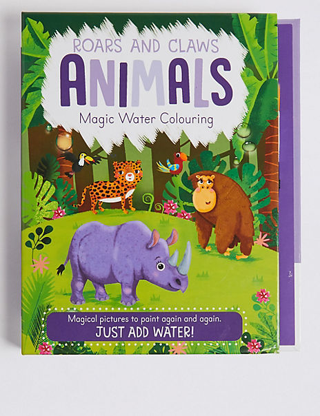Animals Magic Water Colouring Book
