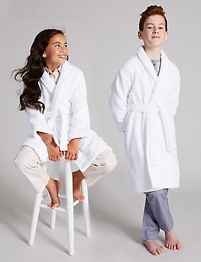Pure Cotton Bath Robe (1-16 Years)