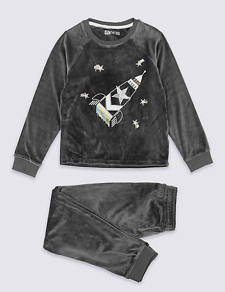 Lost In Space Pyjamas (3-16 Years)