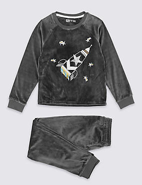 Lost In Space Pyjamas (3-16 Years)