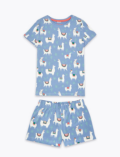 Adaptive Llama Print Pyjama Set (1-16 Years)