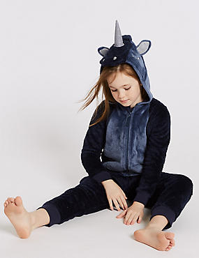 Hooded Unicorn Onesie (1-16 Years)