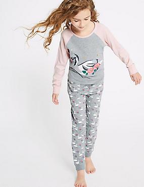 Swan Pyjamas (3-16 Years)
