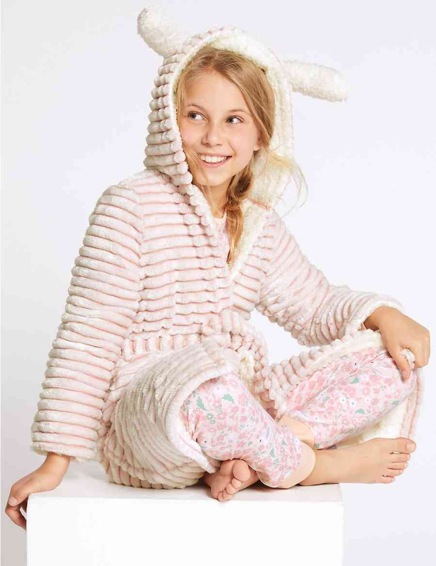 Hooded Bunny Dressing Gown (1-16 Years)  3944f626c