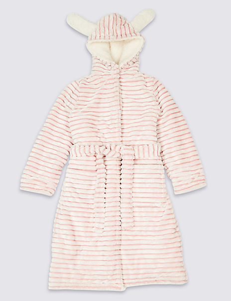 Hooded Bunny Dressing Gown (1-16 Years)