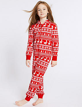 Fairisle Hooded Onesie (1-16 Years)