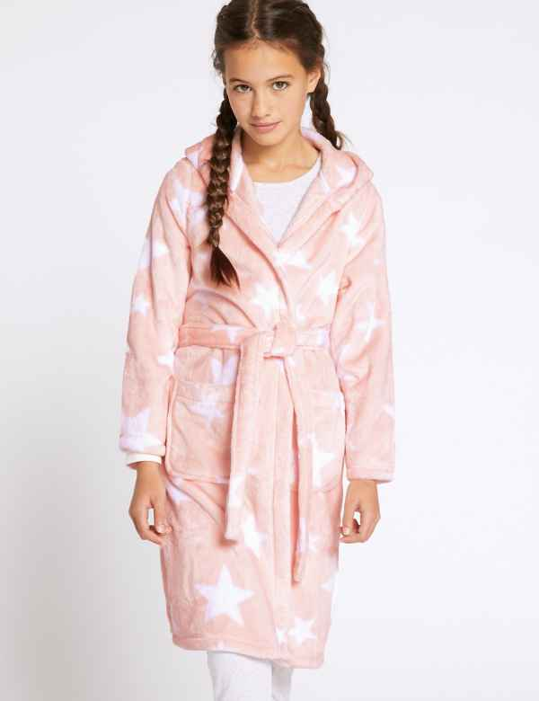 e3f7511e94 Star Print Dressing Gown (1-16 Years)